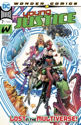 YOUNG JUSTICE #7 VF/NM DC